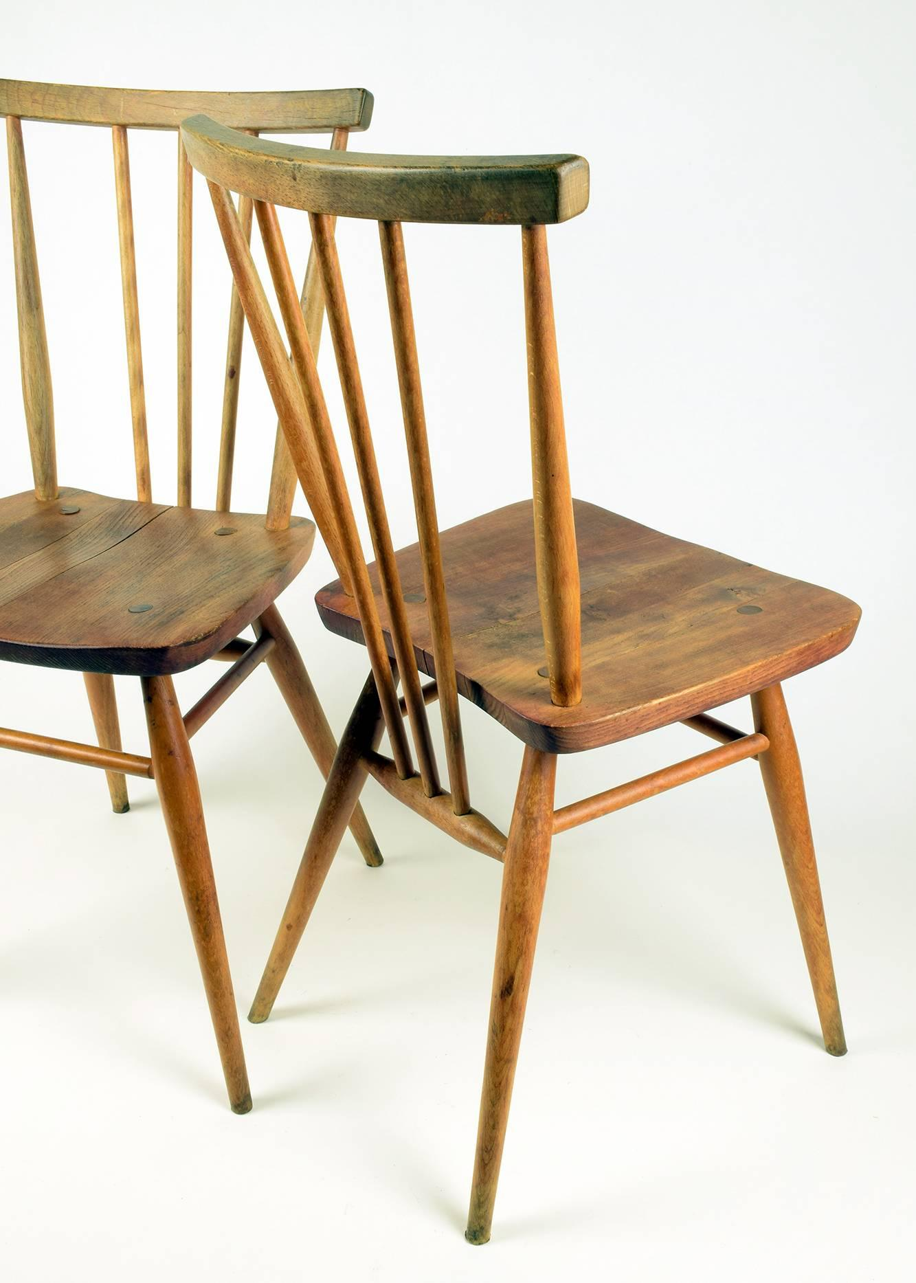 ercol chair design numbers best chairs swivel glider with ottoman pair of classic english midcentury windsor model 391 at 1stdibs