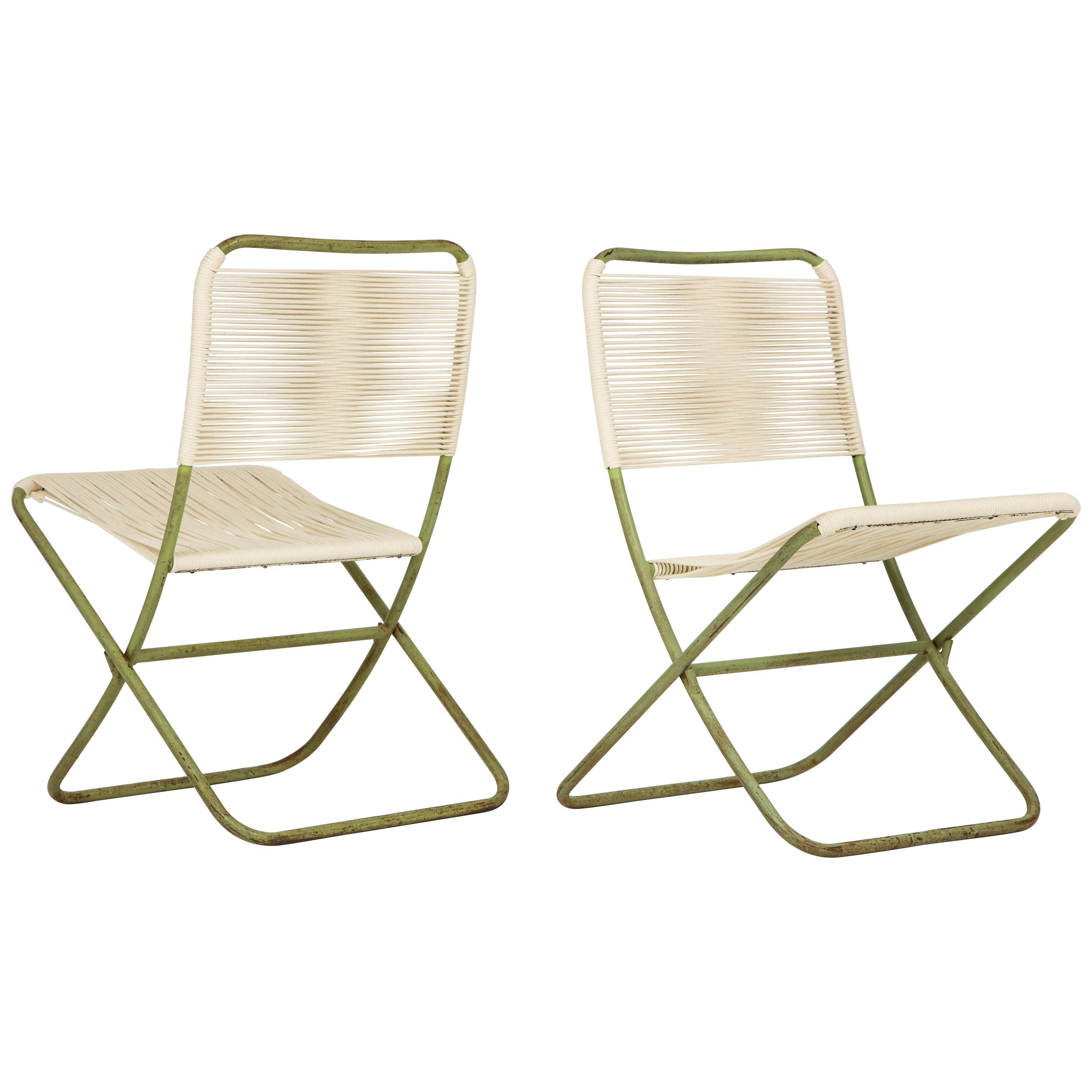 folding chairs for sale swivel tub exceedingly rare greta grossman at 1stdibs