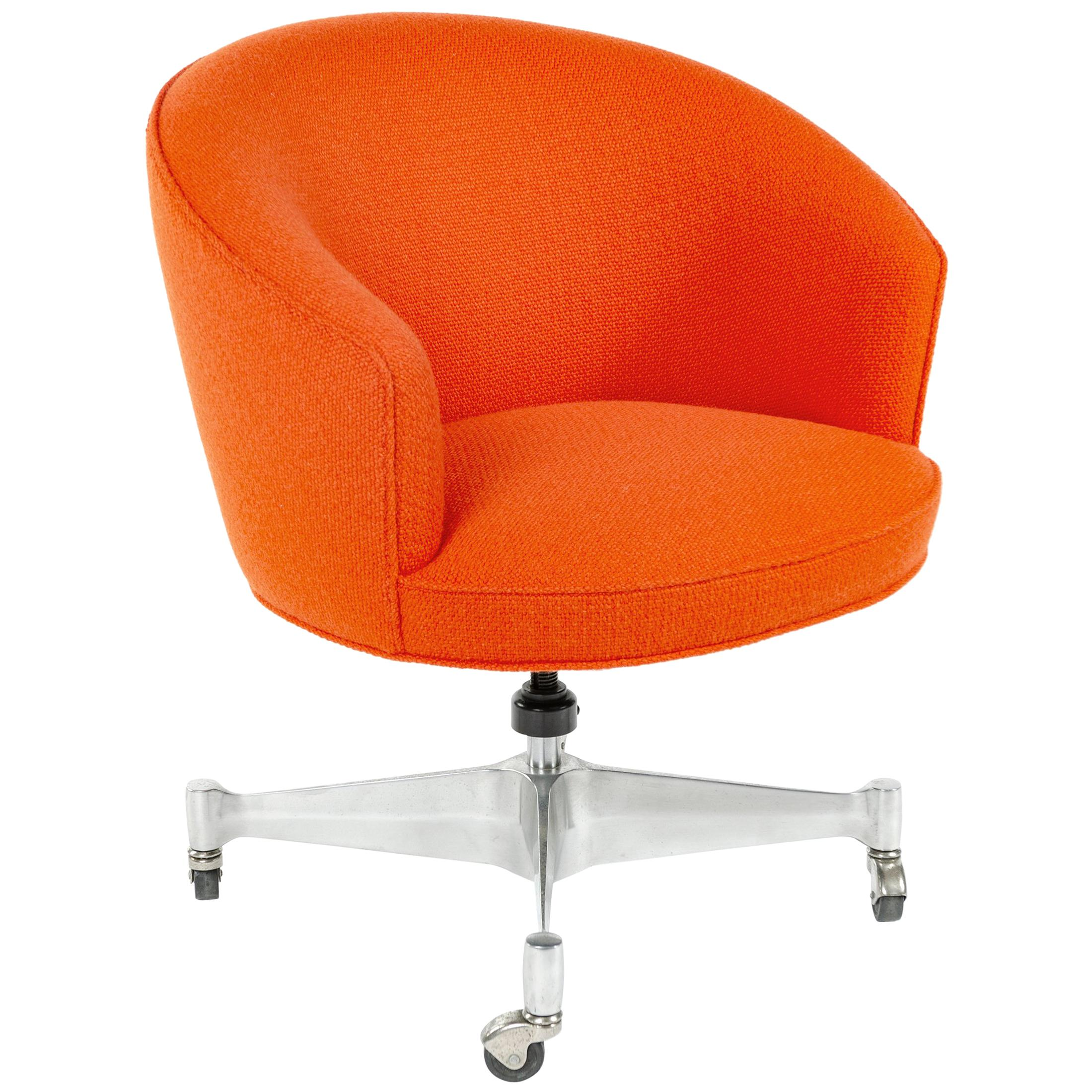 Orange Office Chairs Maple Executive Office Desk Chair By Leathercraft