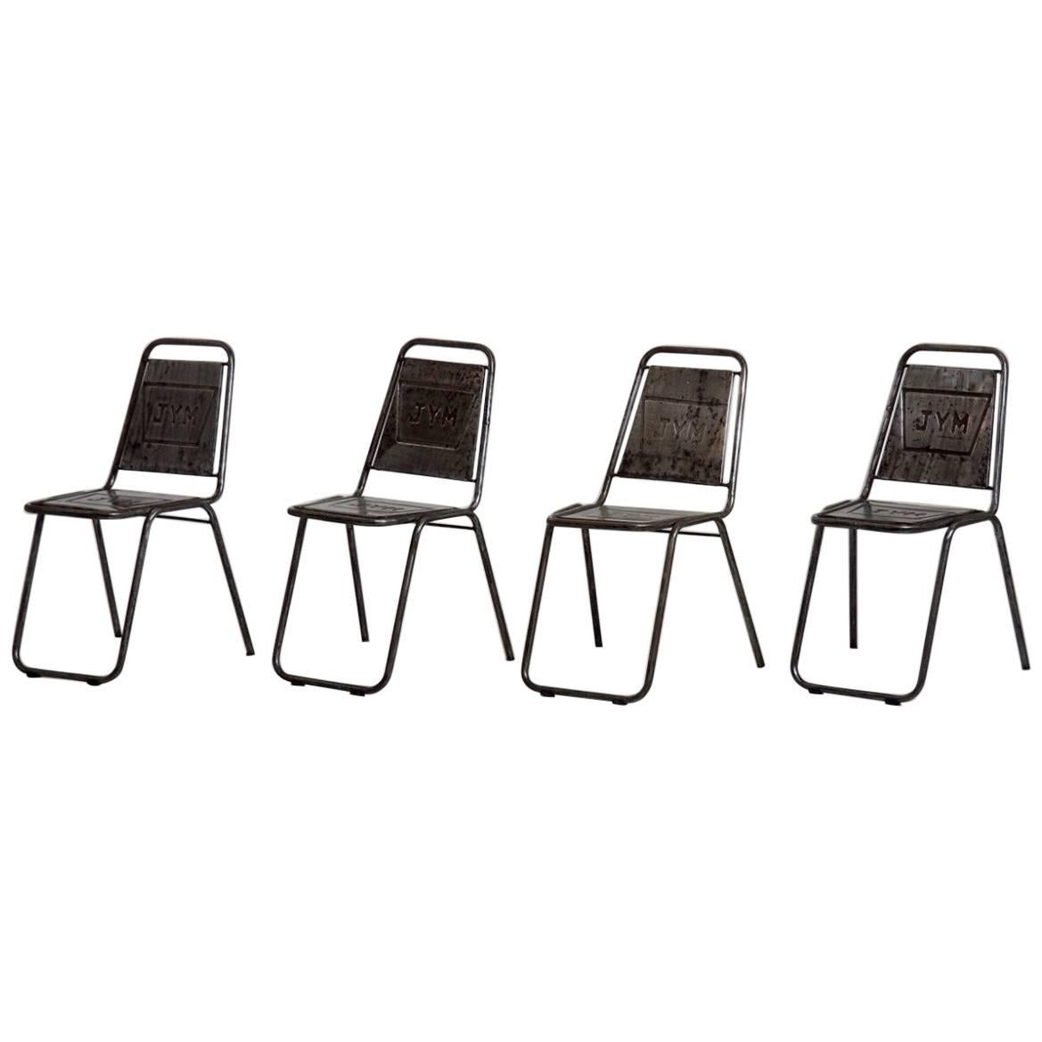 french cafe chairs wire outdoor four early 20th century for sale at 1stdibs