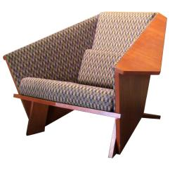 Frank Lloyd Wright Chairs Hanging Chair Round At 1stdibs Style Origami Lounge 1980s