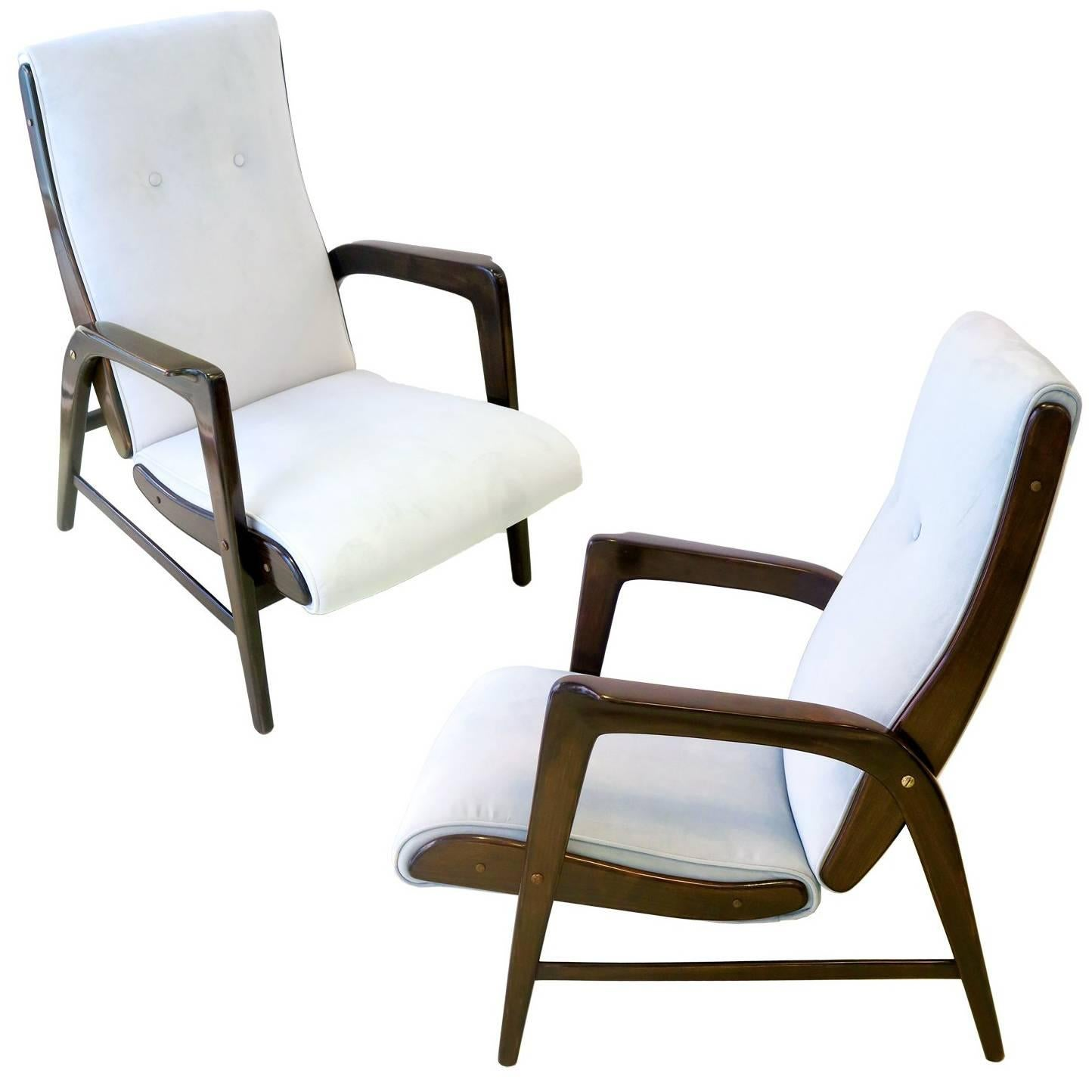gio ponti chair design plans pair of armchairs 512 for sale at 1stdibs