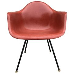 Eames Arm Chair Little Girls Chairs Herman Miller Armchair In Terra Cotta For Sale At 1stdibs