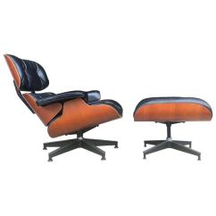 Eames Lounge Chair For Sale Fabric Padded Folding Chairs Herman Miller And Ottoman At 1stdibs