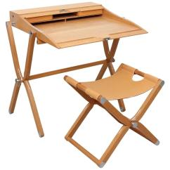 Folding Chair Desk Dorm Room Hermes Pippa And Stool For Sale At 1stdibs