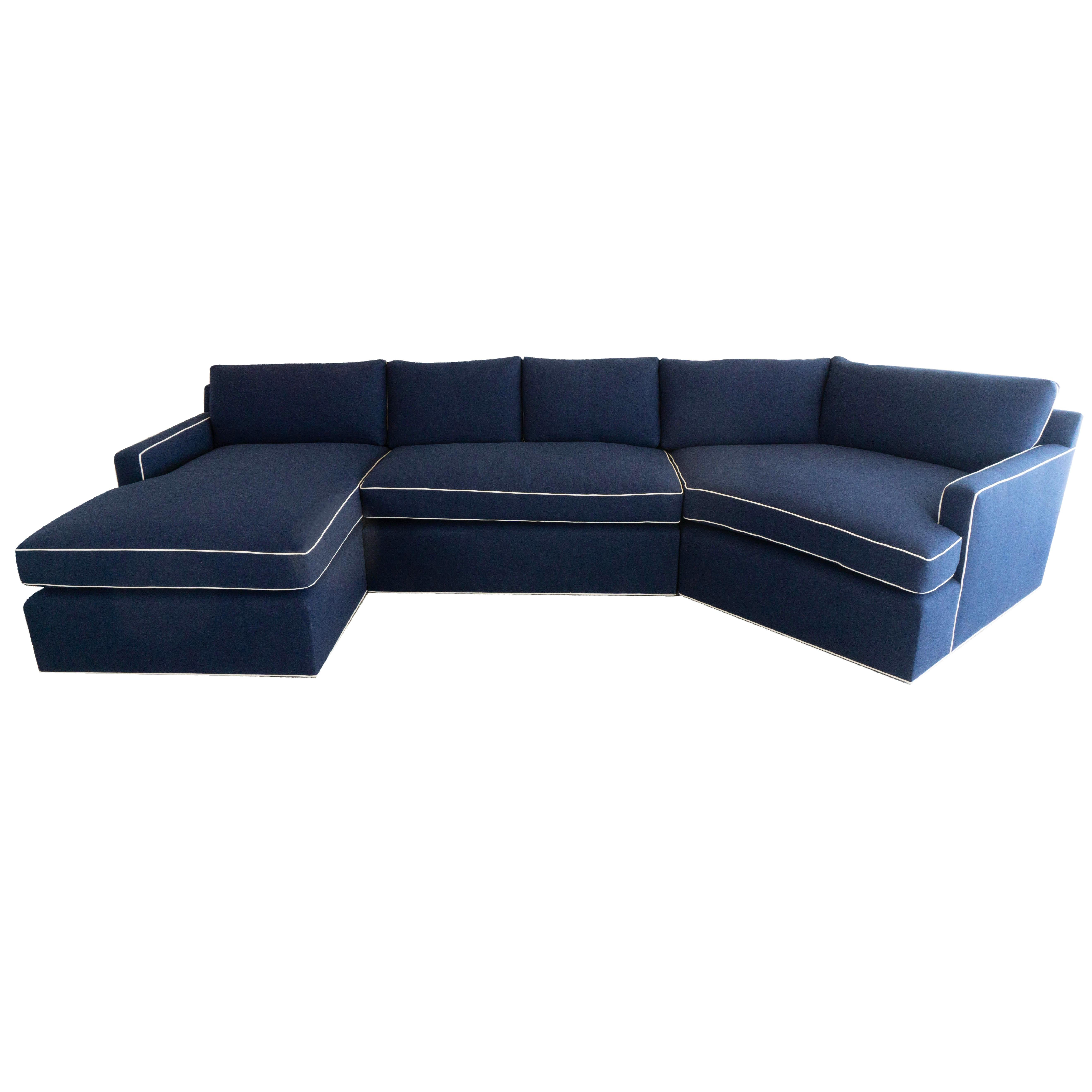 custom sectional sofa score live apk large with chaise lounge for sale at 1stdibs