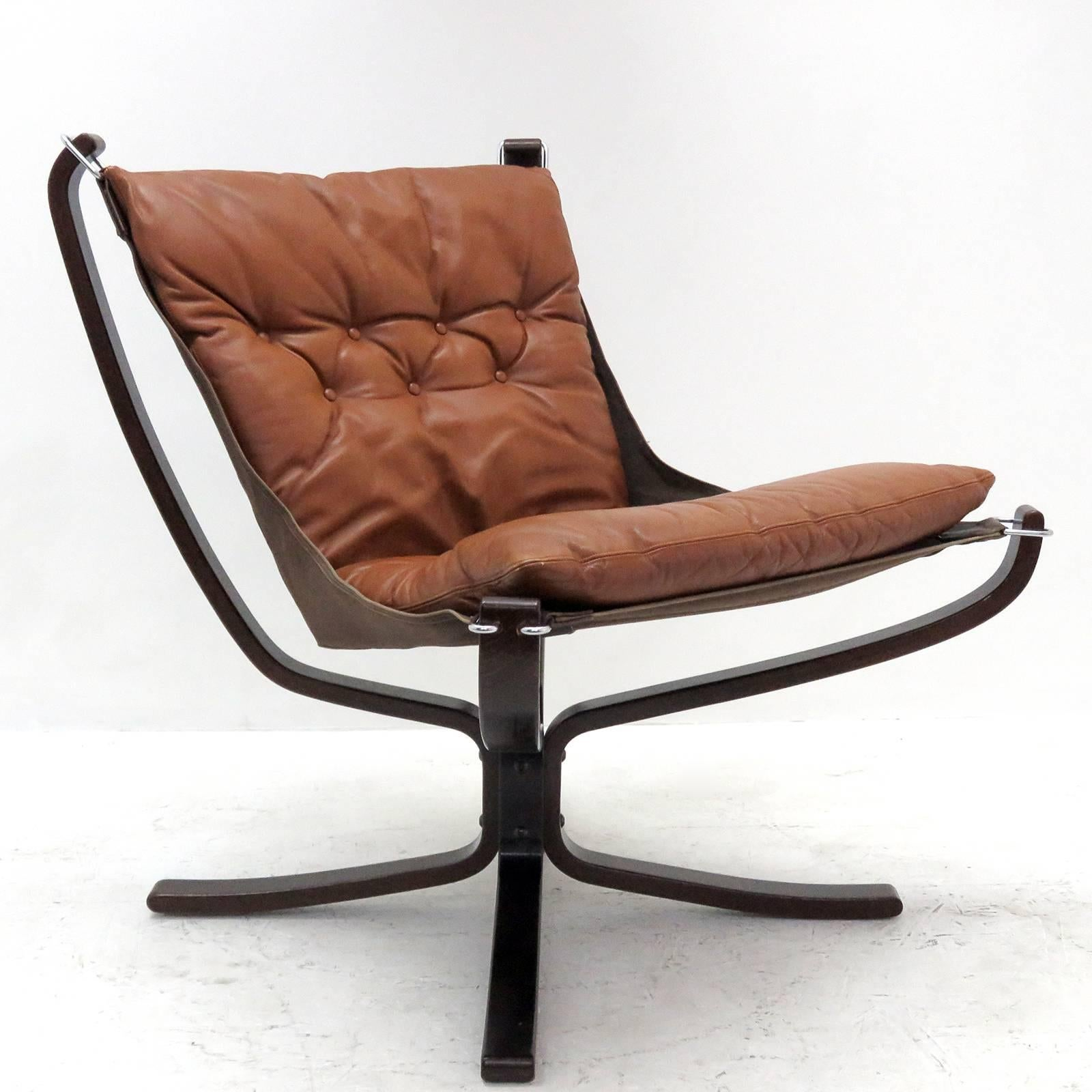 Falcon Chair Leather Chair Falcon By Sigurd Resell