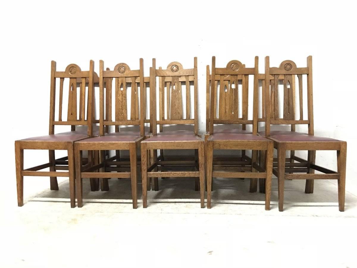 liberty dining chairs designer chair covers australia pty ltd and co ten arts crafts oak with stylised