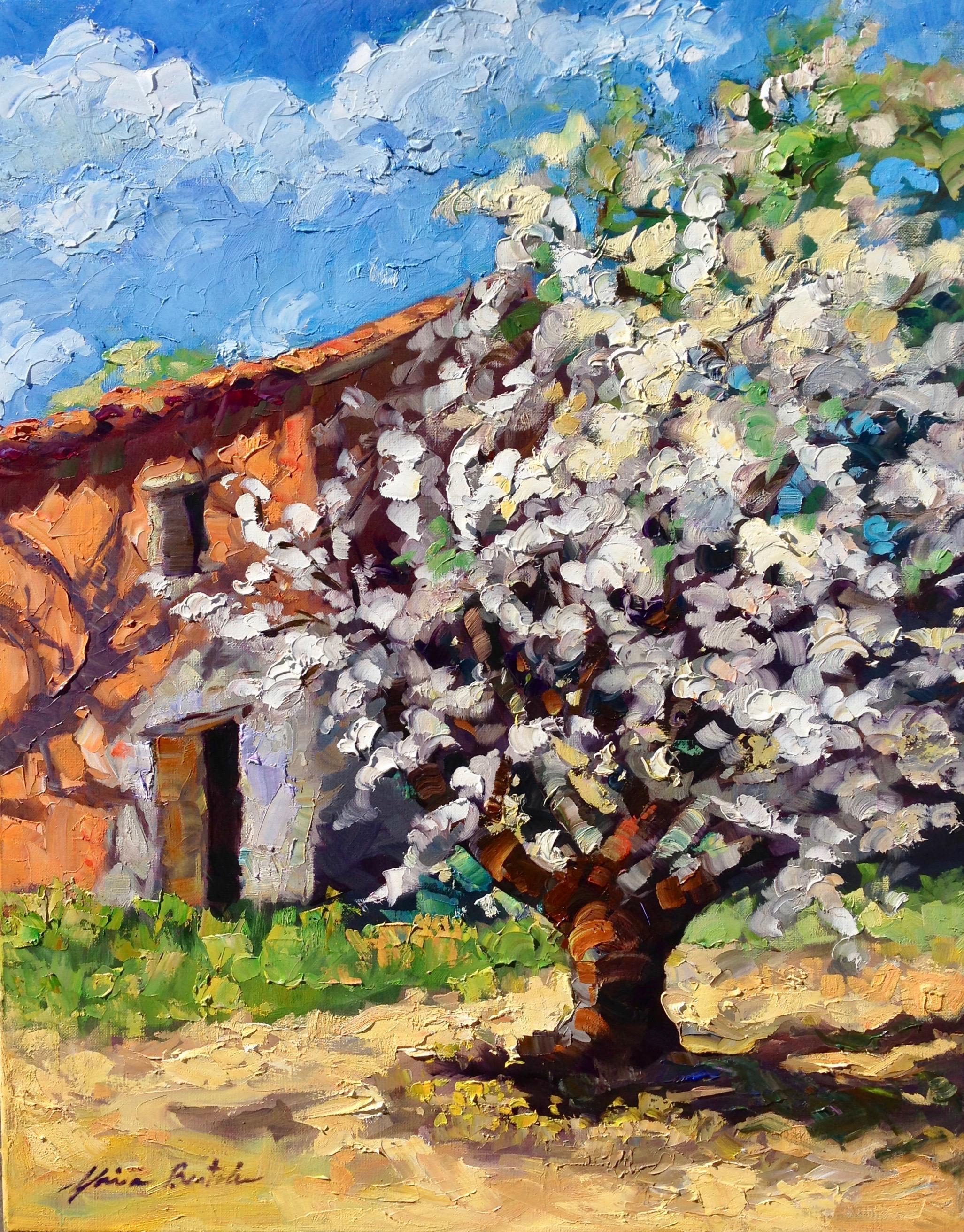 Impressionist Oil Painting : impressionist, painting, Maria, Bertran,