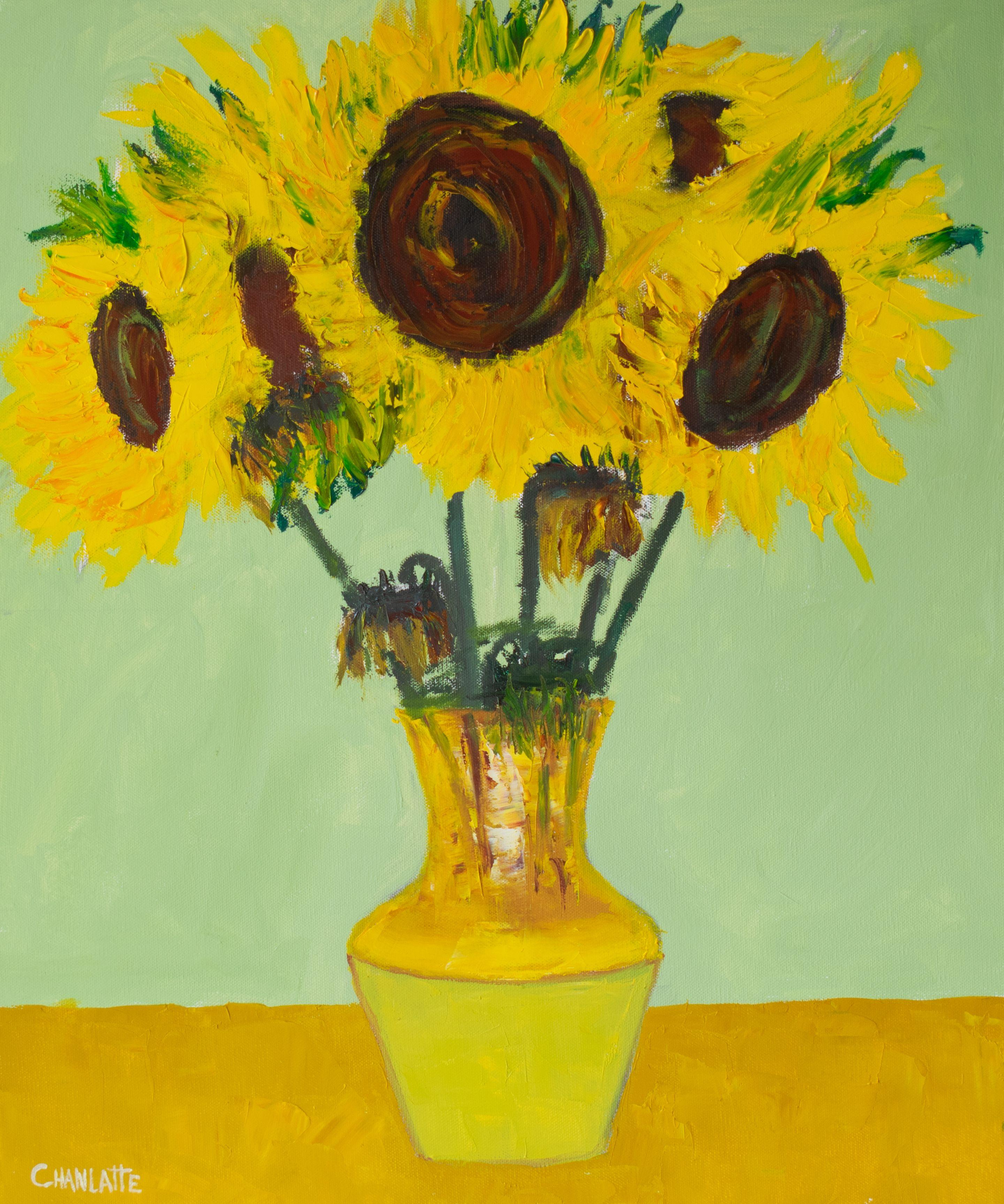 sunflower 5 painting oil