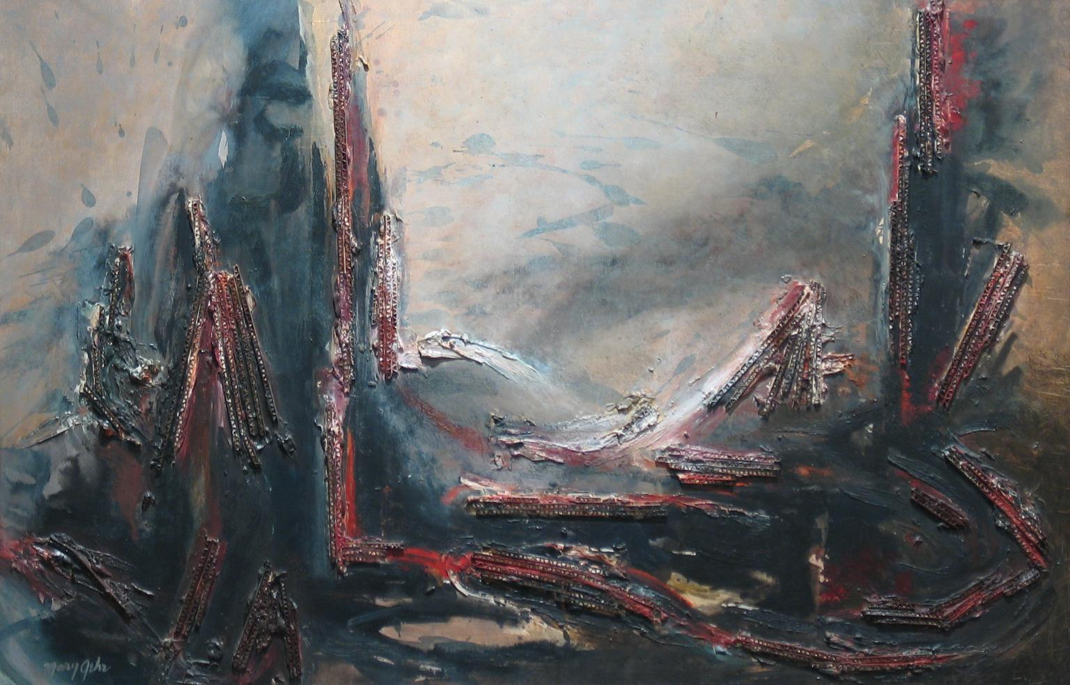 mary gehr - industrial landscape