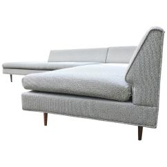 Angled Sectionals Sofas Thomasville And Chairs Mel Abitz For Galloway Furniture Sectional Sofa At 1stdibs Sale
