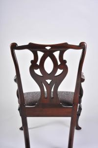 Mid-18th Century Chinese Open Armchair in the English ...