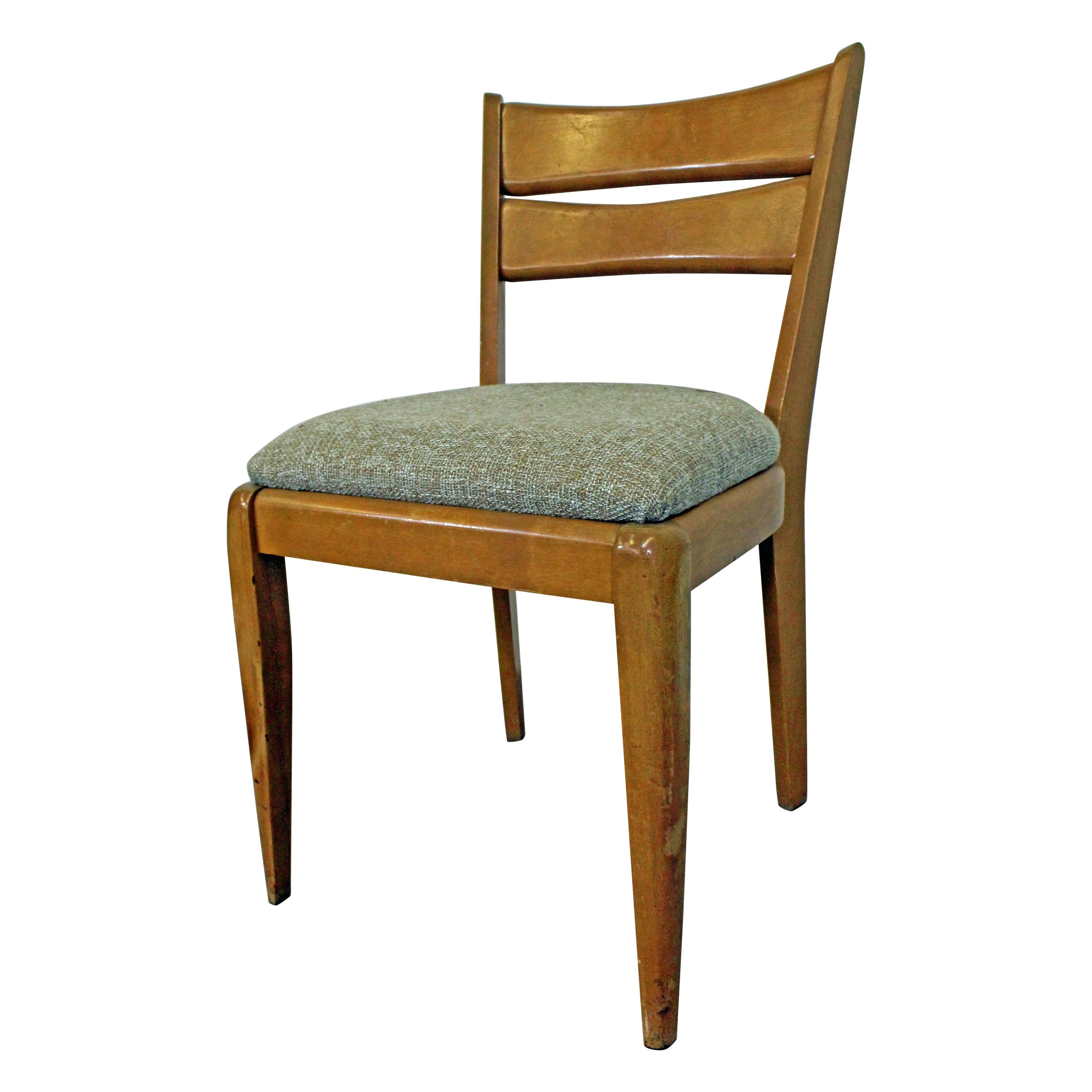 Heywood Wakefield Dining Chairs Mid Century Modern Heywood Wakefield Cat S Eye Champagne Dining Chair M151