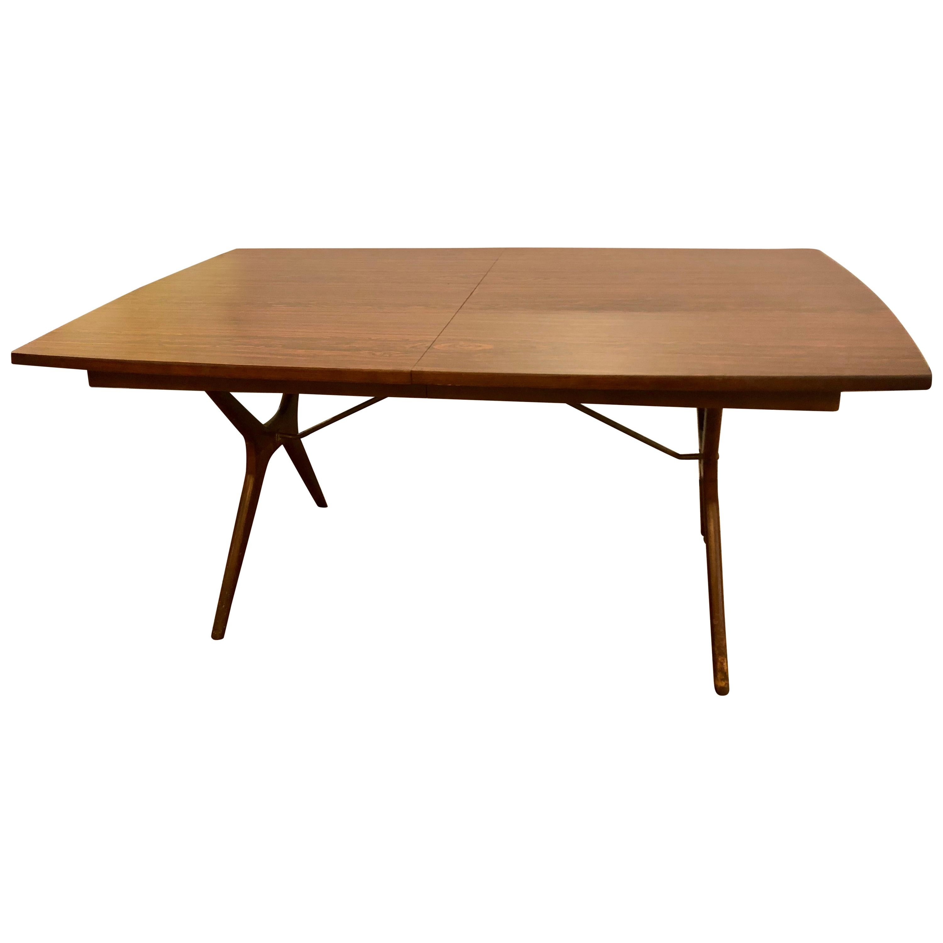 60s Dining Table For Twelve By Baker Furniture At 1stdibs