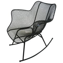 Mid Century Modern Wire Chair Your Zone Flip Available In Multiple Colors Sculptura Mesh Rocking By Russell Woodard For Sale