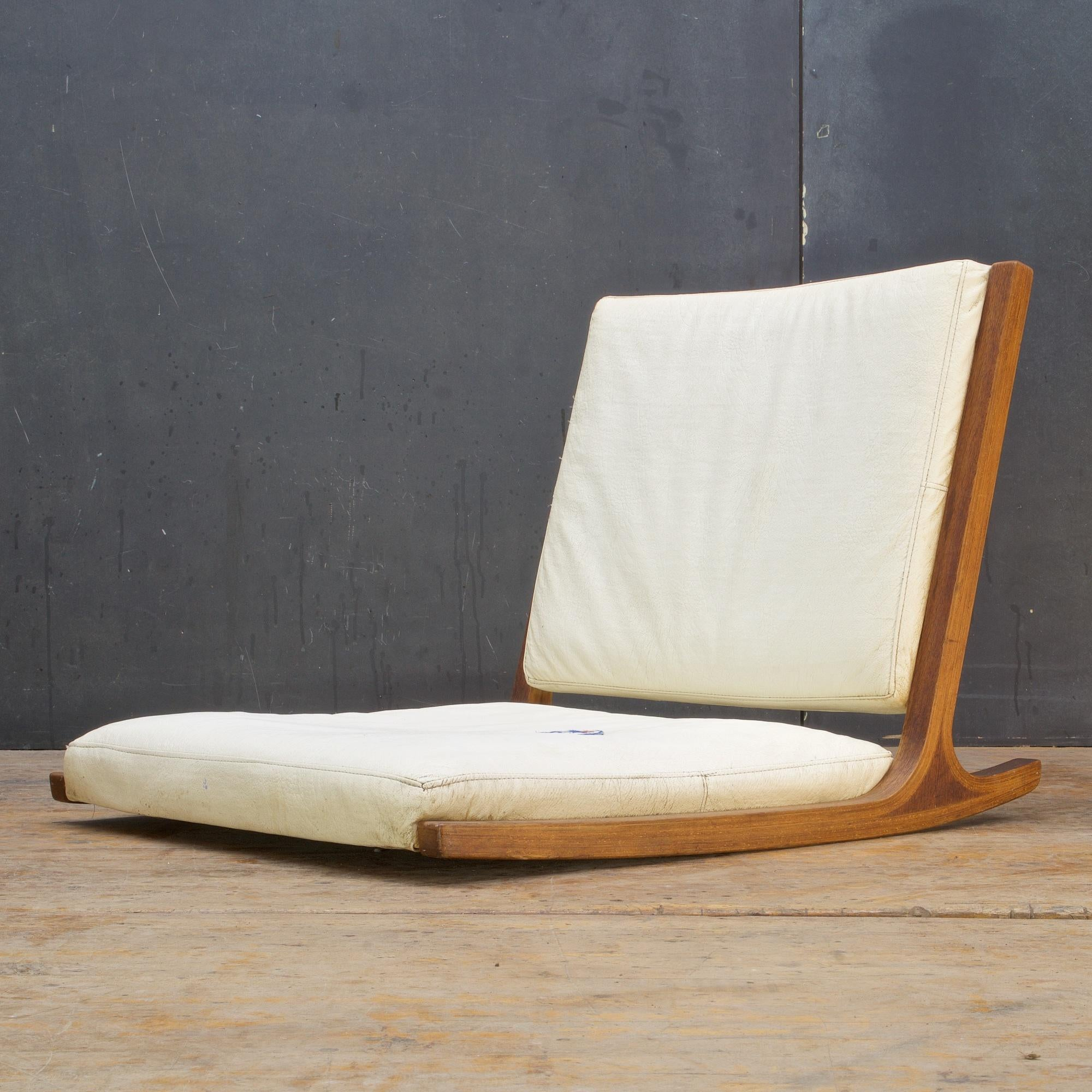 Japanese Chair Midcentury Japanese Tamtami Rocking Lounge Chair Kenzo Tarumi Junzo Sakakura