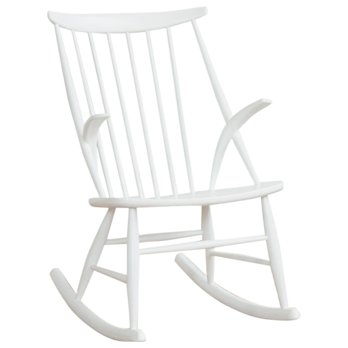 white rocking chairs for sale folding chair umbrella midcentury by illum wikkelso niels eilersen