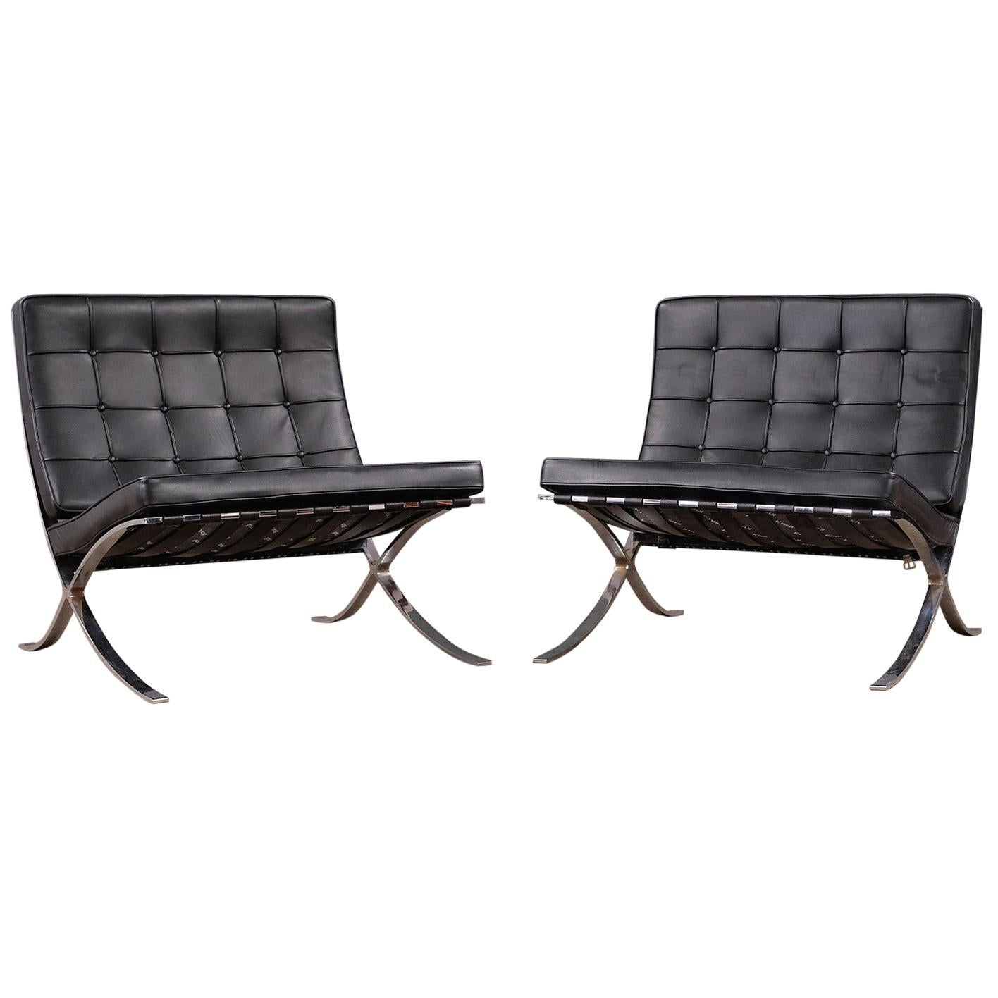 Barcelona Chairs For Sale Mies Van Der Rohe Barcelona Chairs