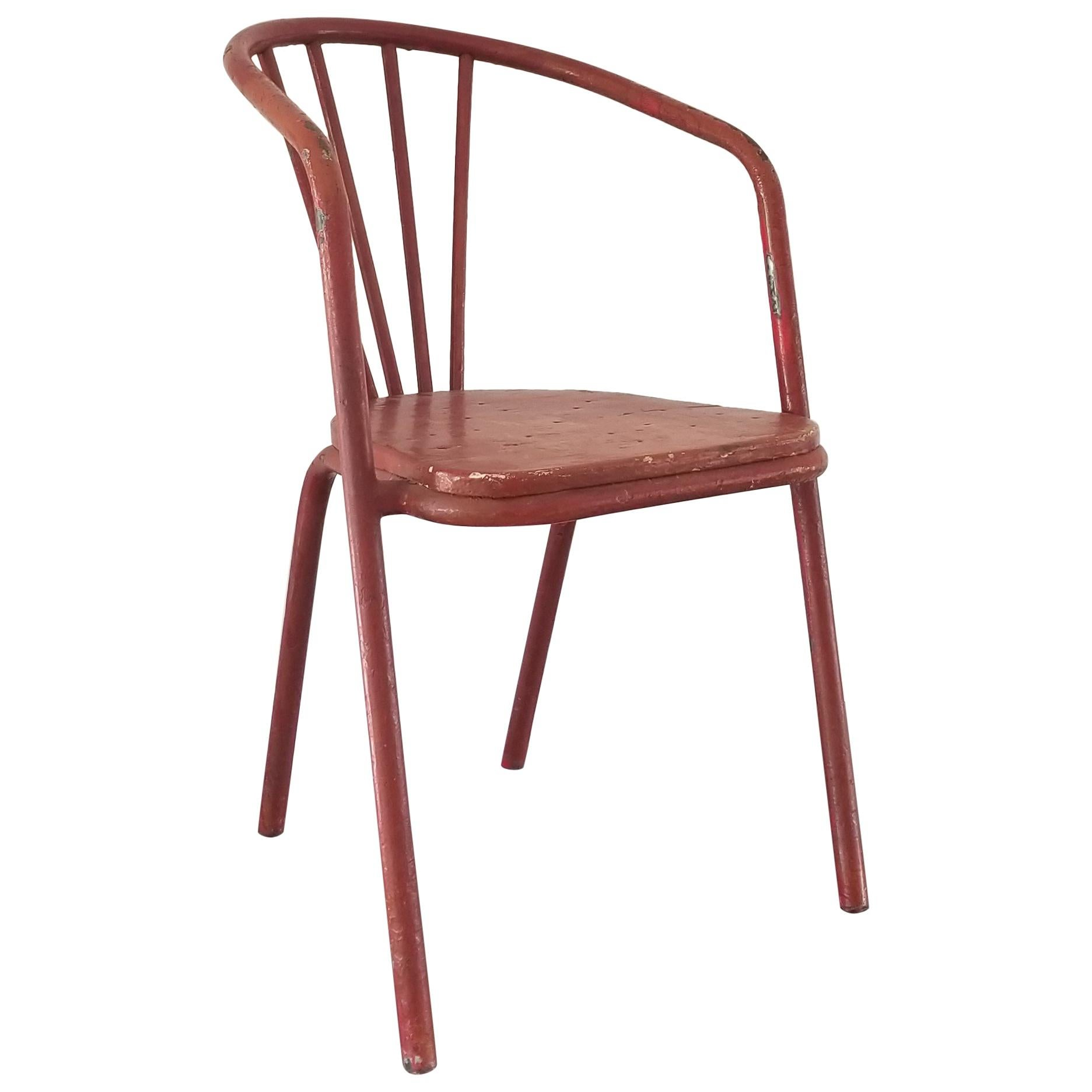 Modernist Chair by Robert Mallet Stevens France 1930s