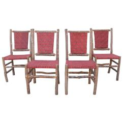 Hickory Chairs For Sale Phil And Teds Lobster High Chair Old Upholstered Seat Backs Or Set Of Four