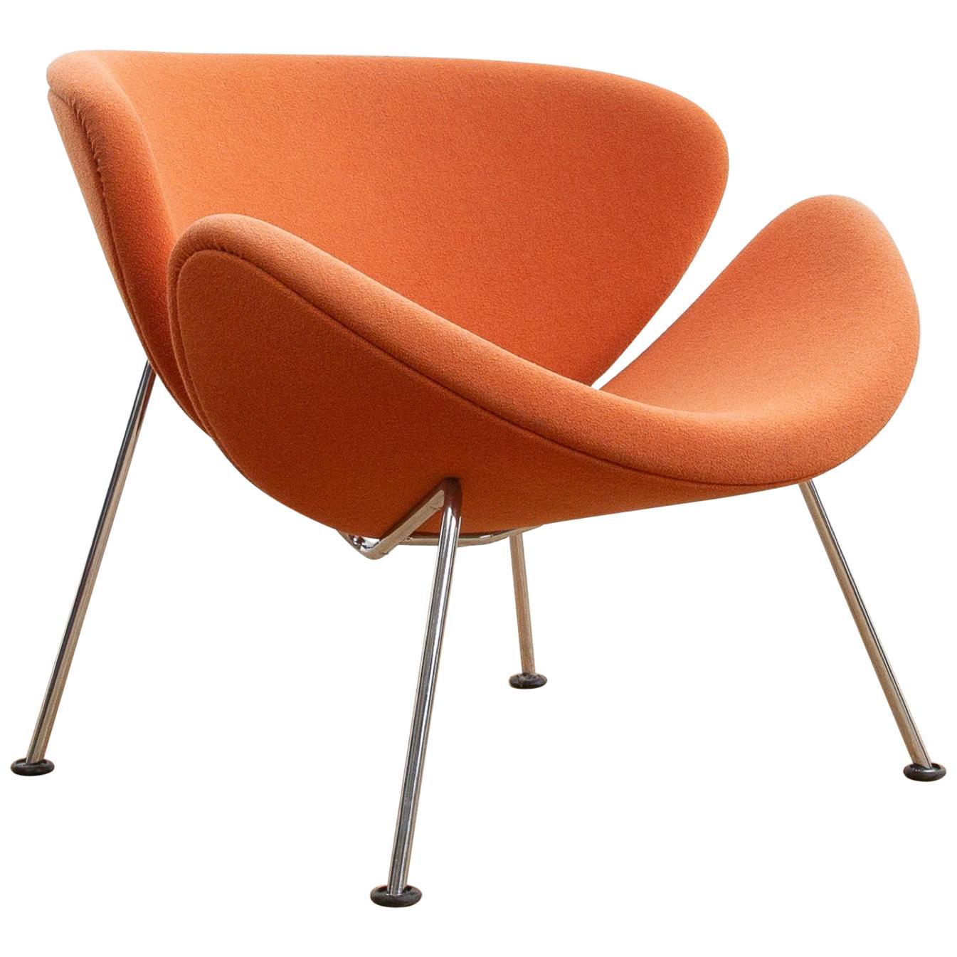 orange slice chair gym australia by pierre paulin for artifort sale at 1stdibs