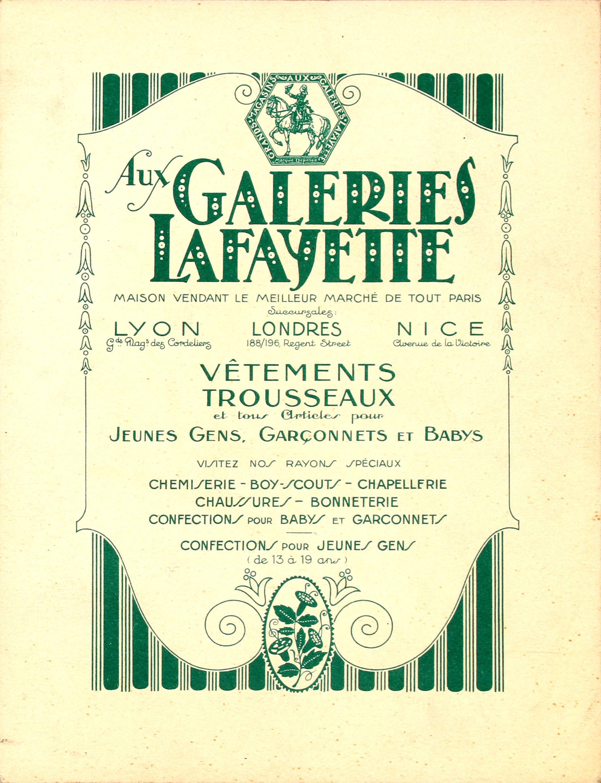 original vintage galeries lafayette