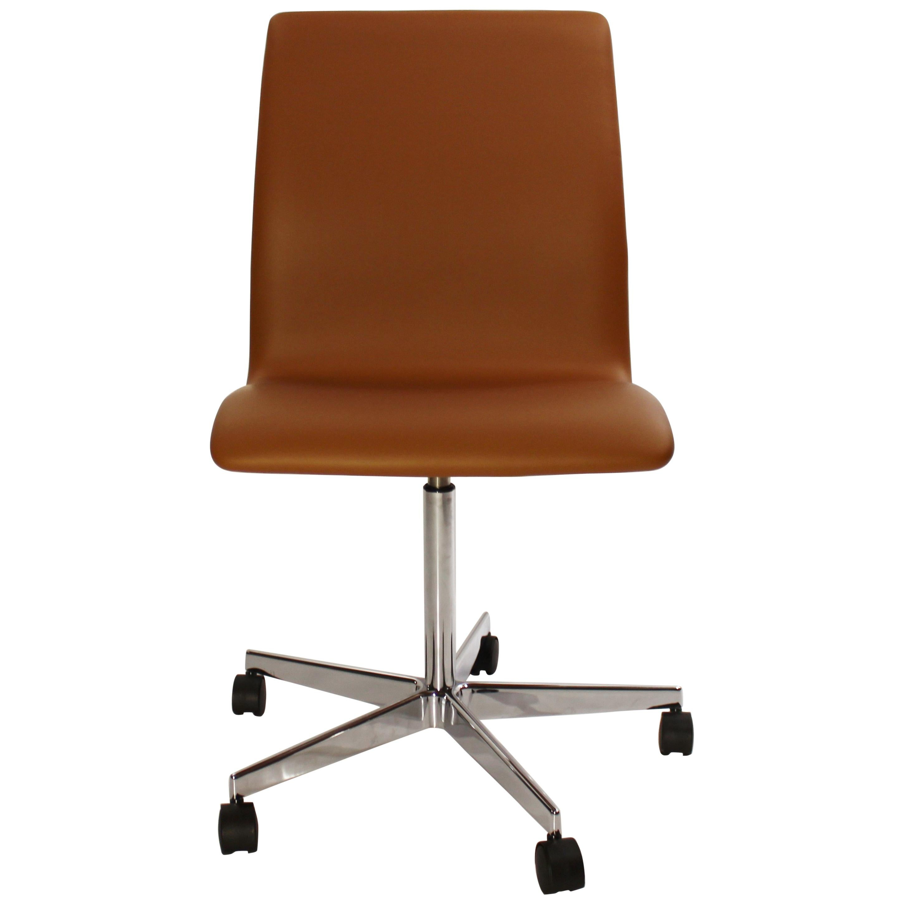 Fritz Hansen Chairs Oxford Classic Office Chair Model 3171 By Arne Jacobsen And Fritz Hansen