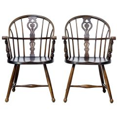 Antique Windsor Chairs Pier One Chair And Vintage 157 For Sale At 1stdibs Pair Of 20th Century Armchairs