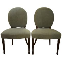 Salon Chairs For Sale Chair Covers Recliners Pair Of George Iii Adam Period At 1stdibs