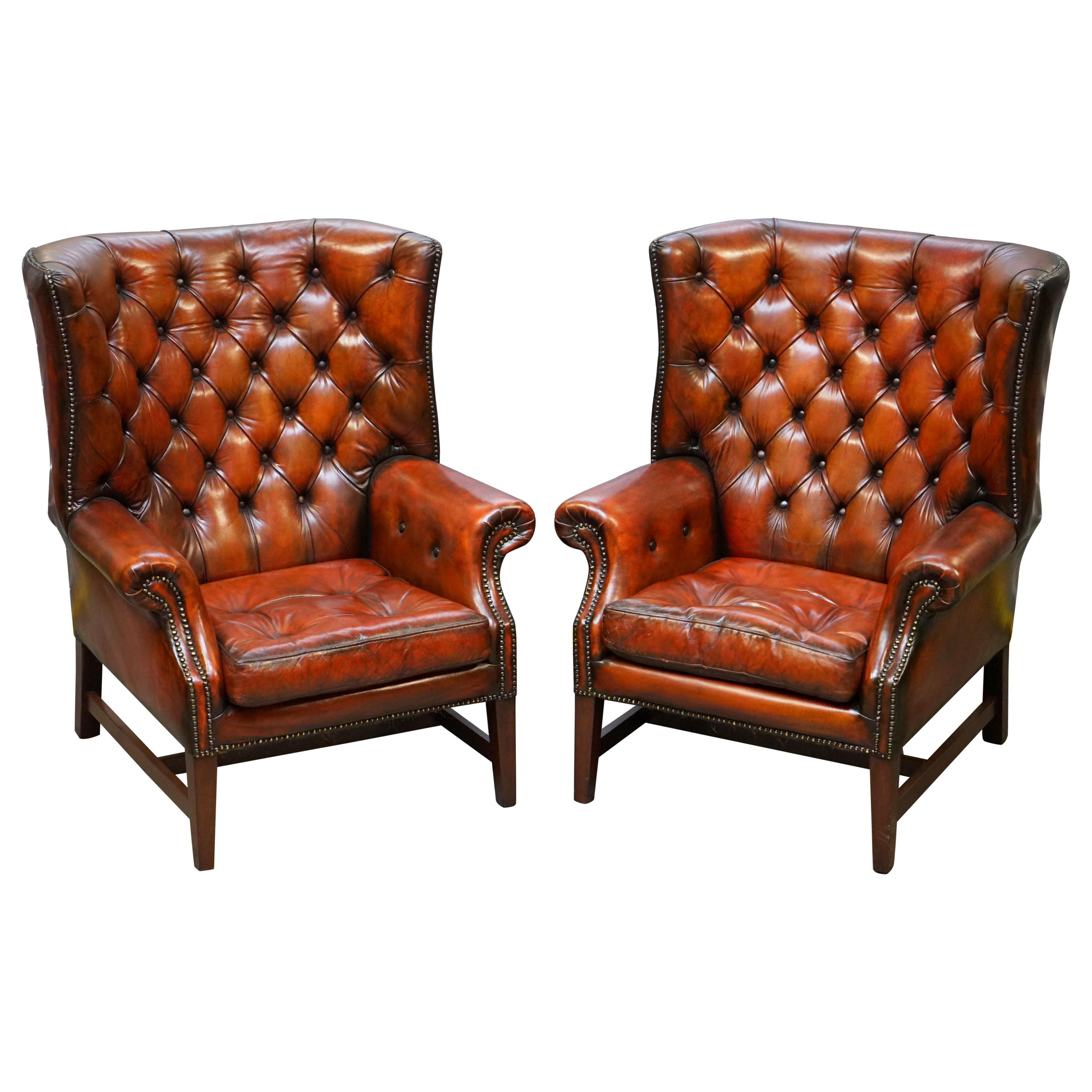 Used Wingback Chairs Antique And Vintage Wingback Chairs 873 For Sale At 1stdibs