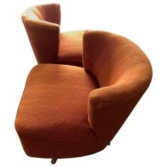Comfortable Swivel Chair Lumbar Support For Pair Of Unusual Chairs By Kroehler Sale At 1stdibs