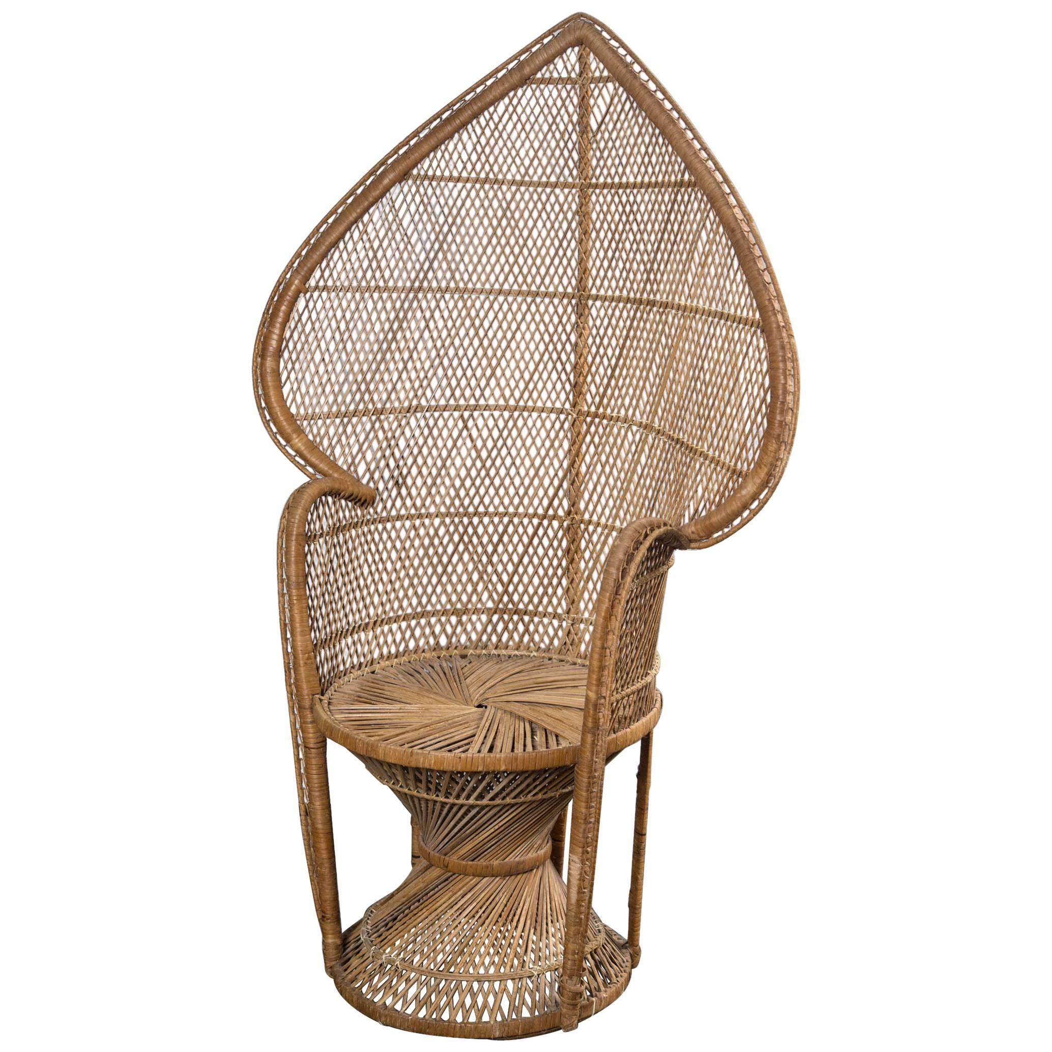rattan peacock chair kids table and chairs set petite for sale at 1stdibs