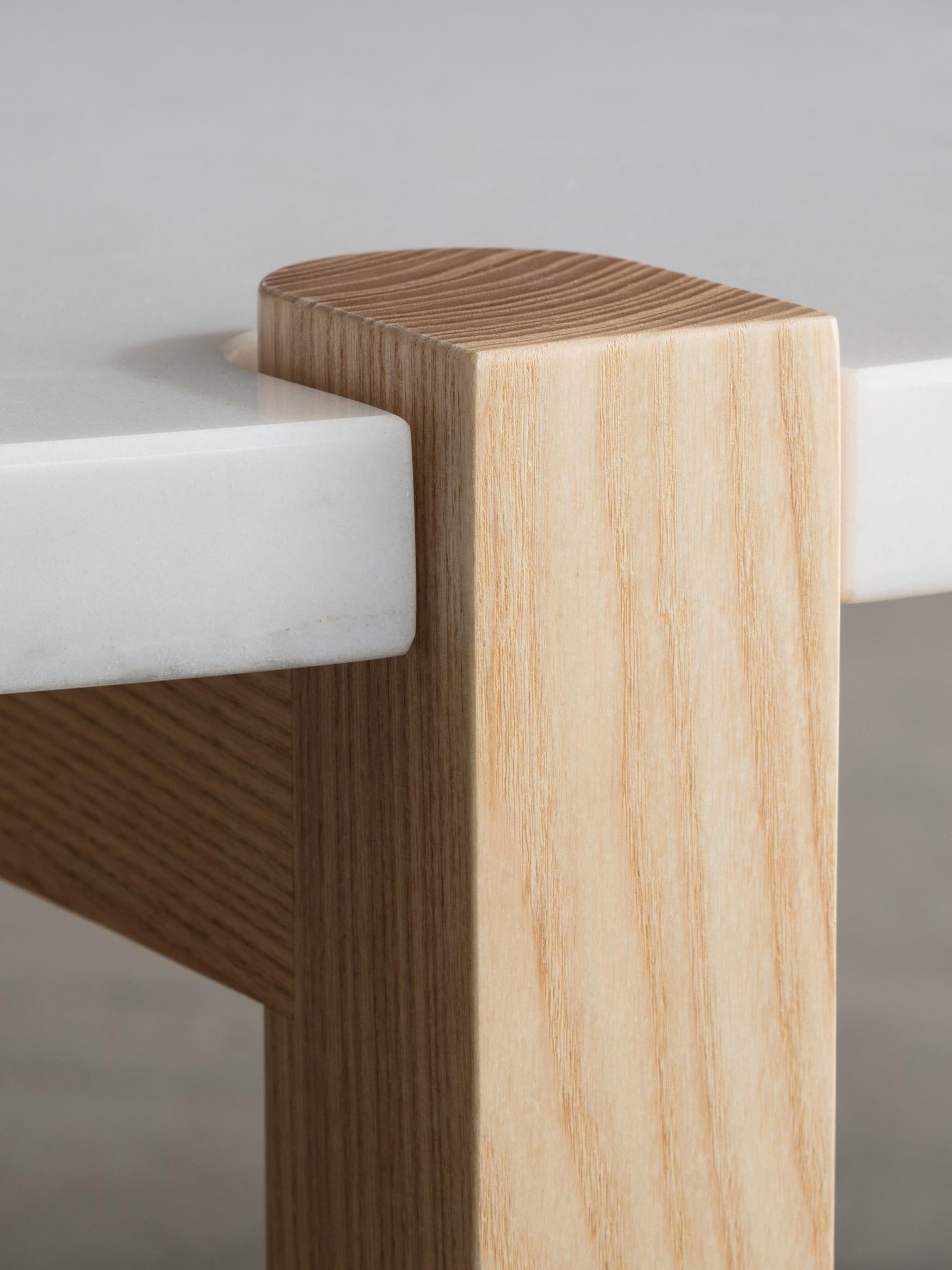 Table Ash Usa Console Made