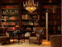 British Colonial Style Interior Design Office