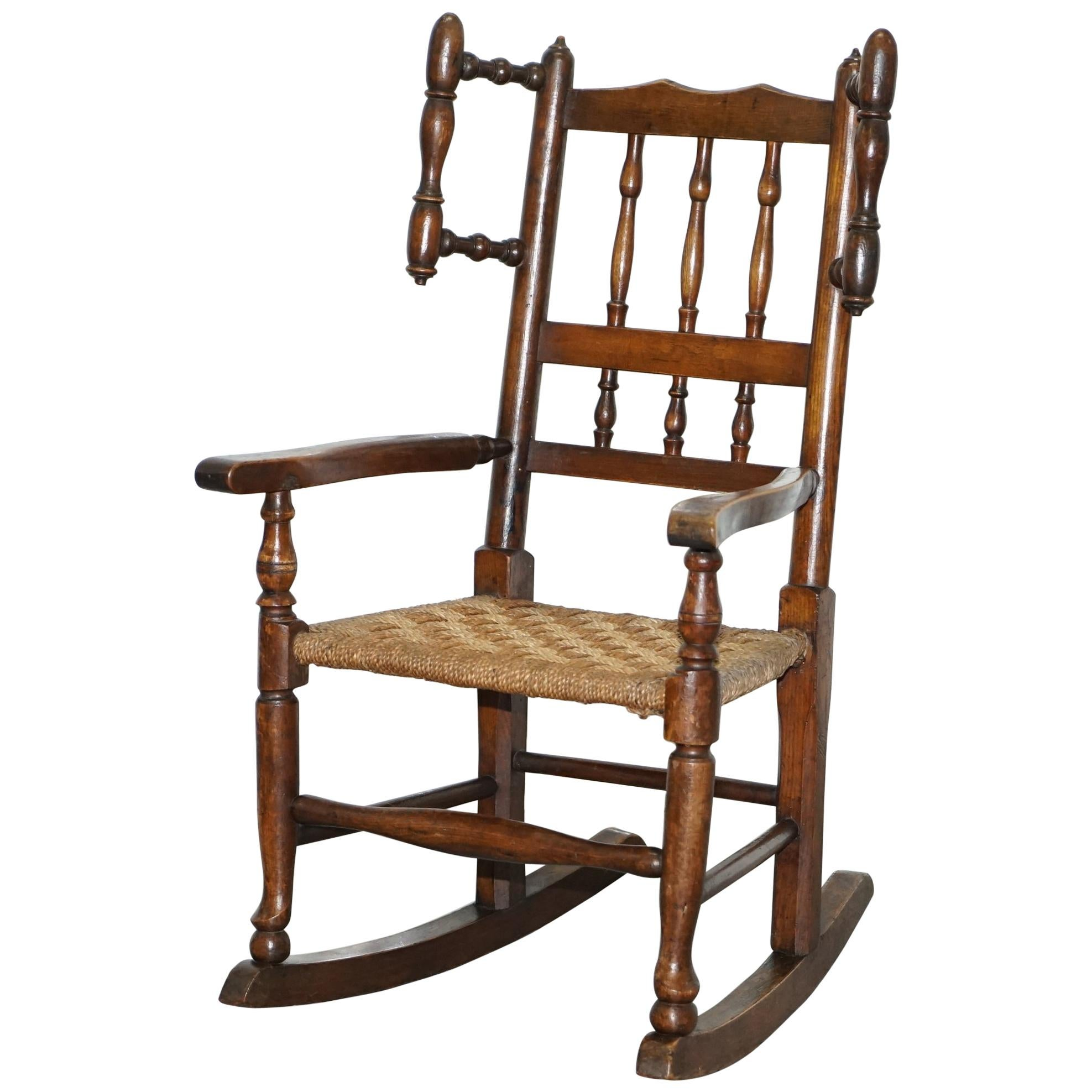 Cheap Rocking Chairs Rare Antique Rocking Chair For Children American Rocker For Child Or Toy Bear