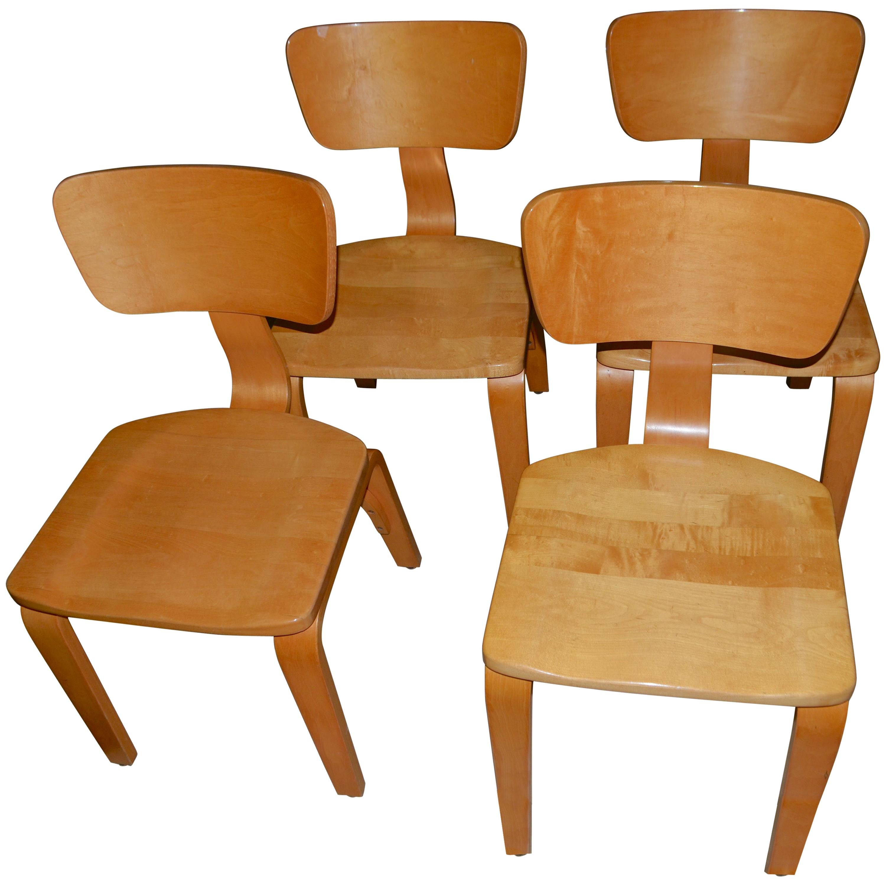 bentwood dining chair white fluffy reserved for alexandra thonet maple chairs with set of four sale