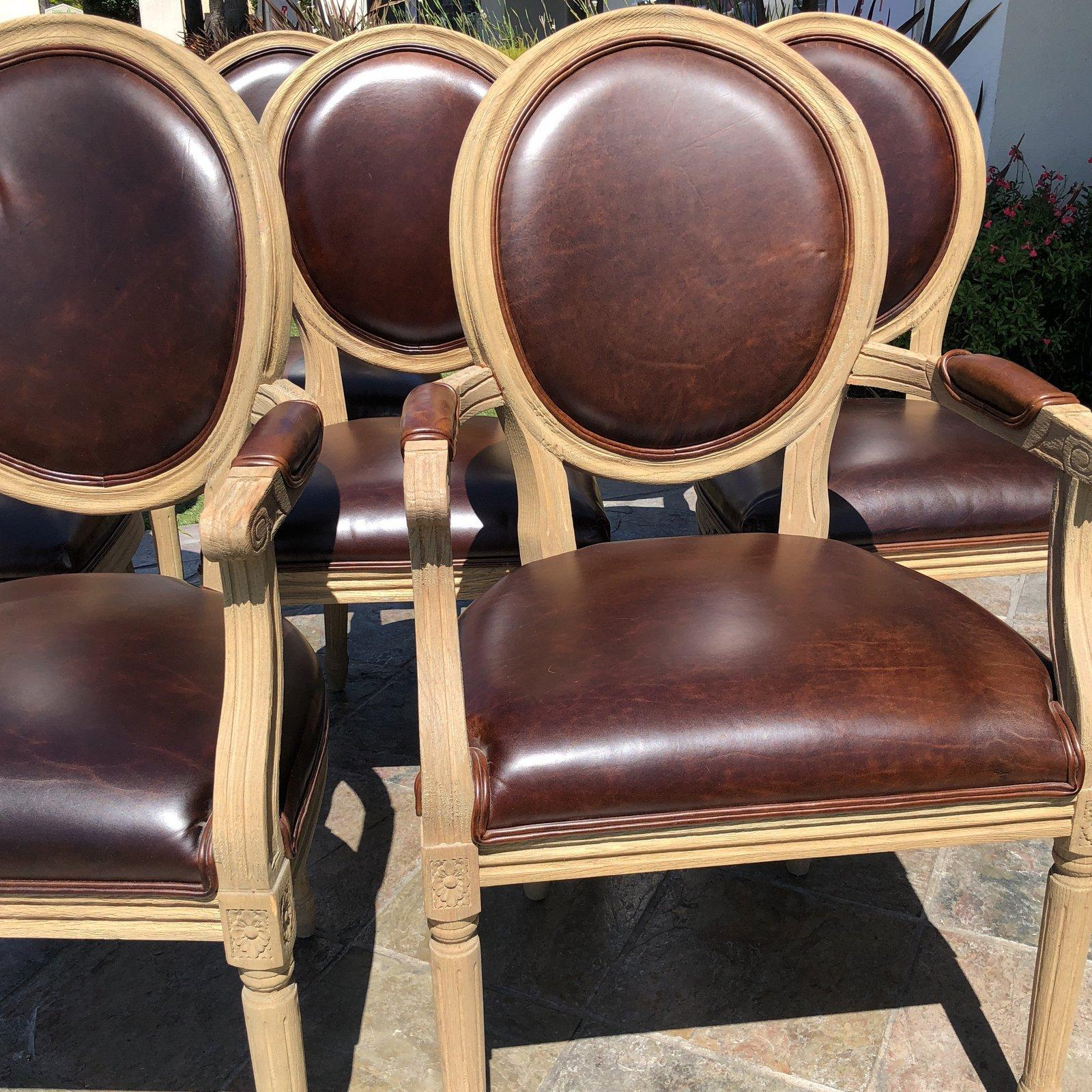 Restoration Hardware Dining Chairs Restoration Hardware Vintage French Round Dining Chairs Set Of Eight