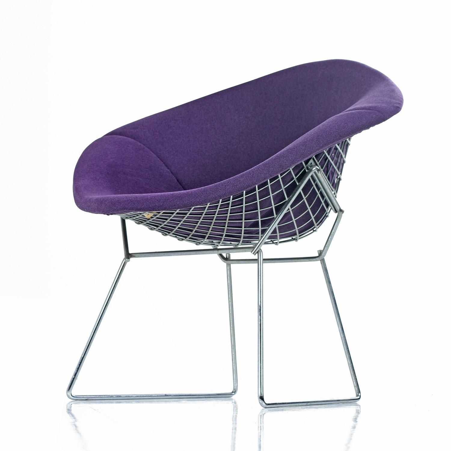 Diamond Chair Knoll Restored Diamond Chair By Harry Bertoia For Knoll - Full ...