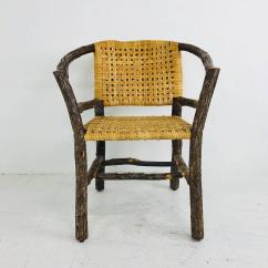 Hickory Chairs For Sale Go Anywhere High Chair Set Of Six Adirondack At 1stdibs In Good Condition Dallas Tx