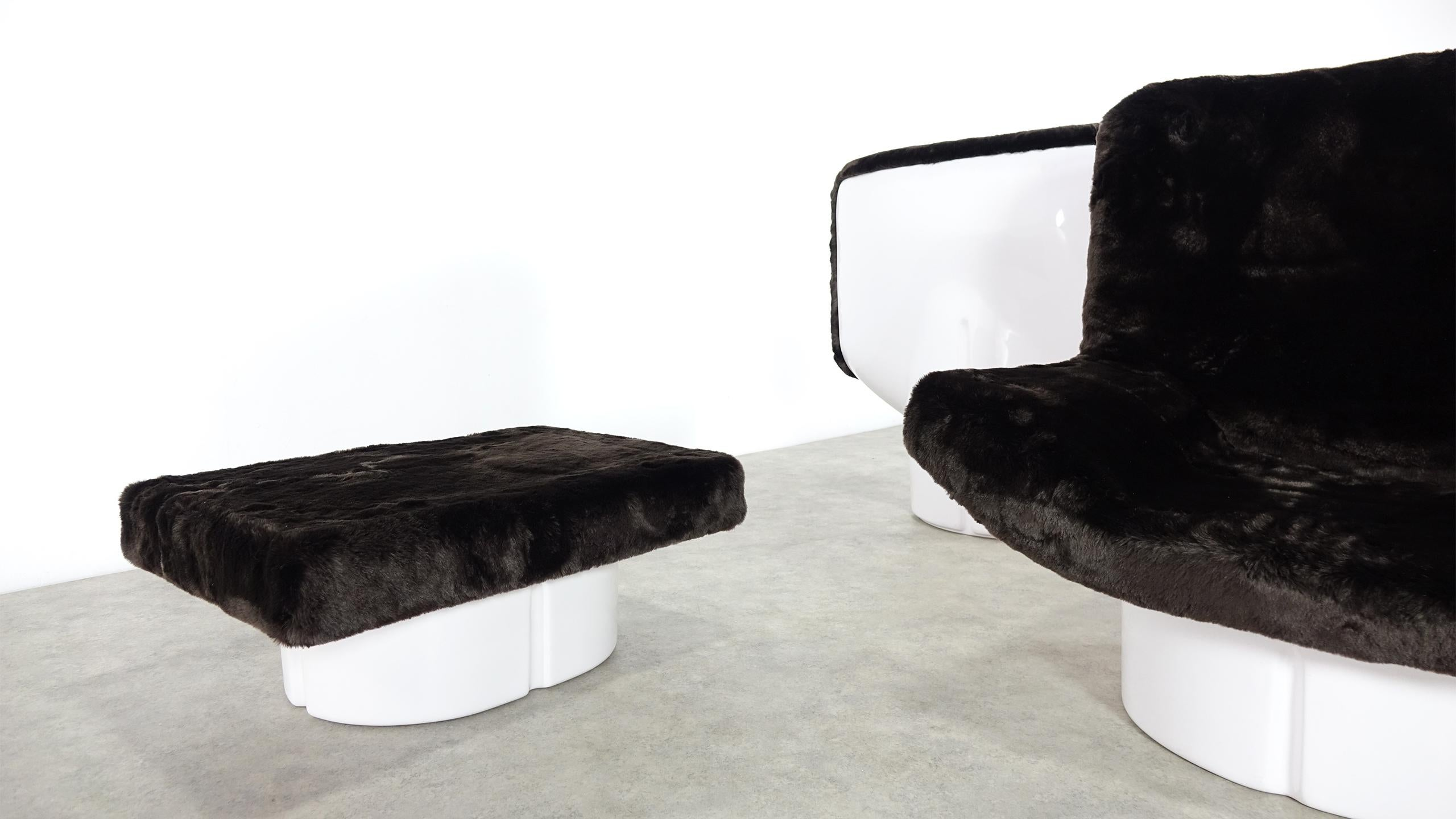 Set of IL Poltrone Lounge Chair T Ammannati and GP