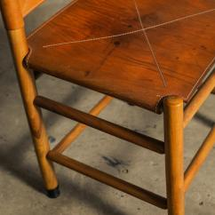 Folding Kentucky Chair Cheap Foldable Chairs Set Of Six By Carlo Scarpa For Bernini Sale At 1stdibs