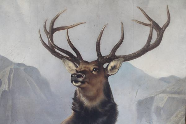 Monarch Of Glen Stag Painting