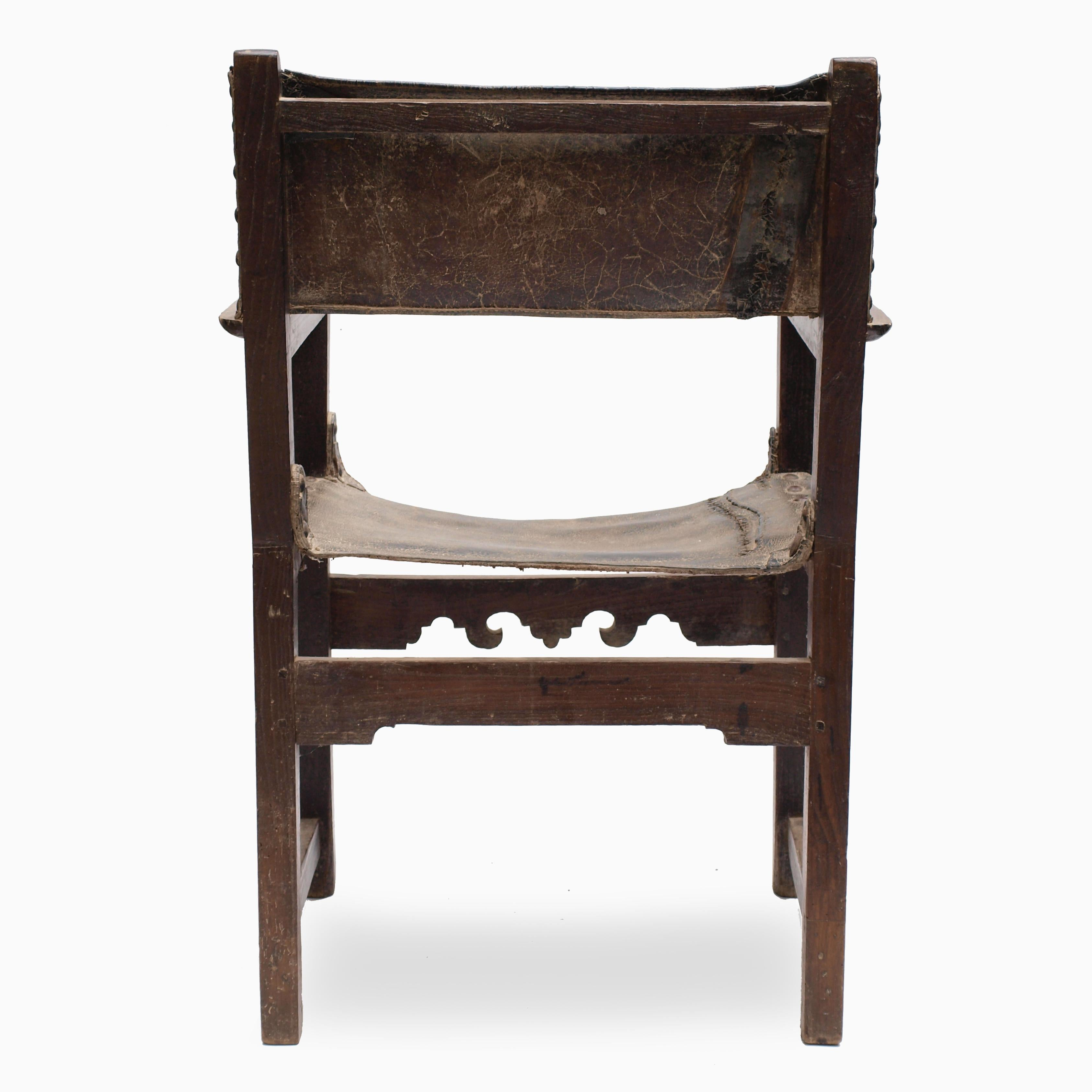 Chair In Spanish Spanish Friars Chair Mid 17th Century