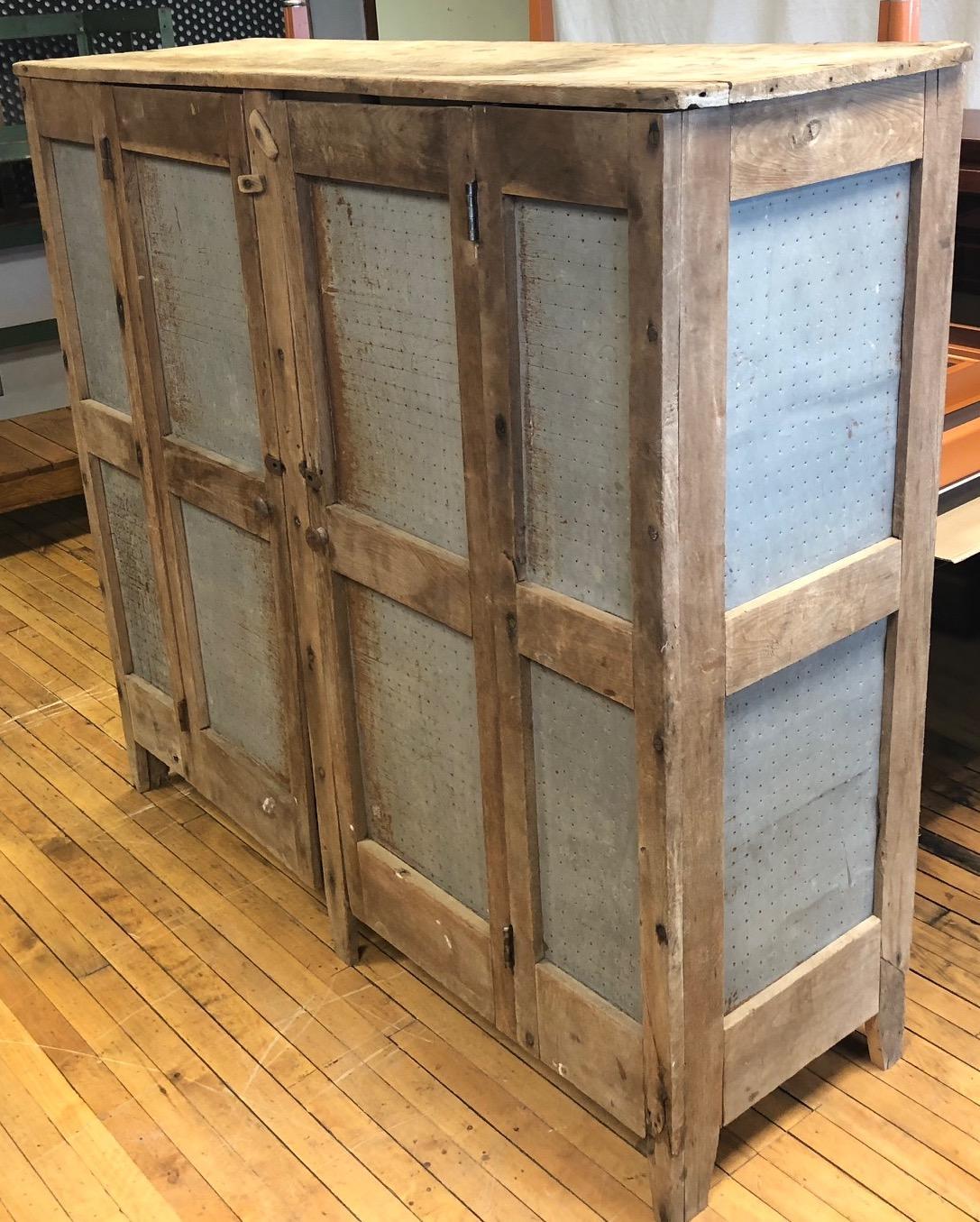 storage cabinet amish meat safe