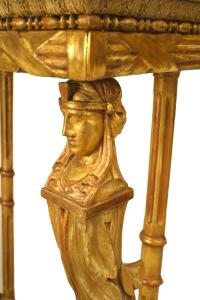 Swedish Empire Console Table With Egyptian Detail For Sale ...