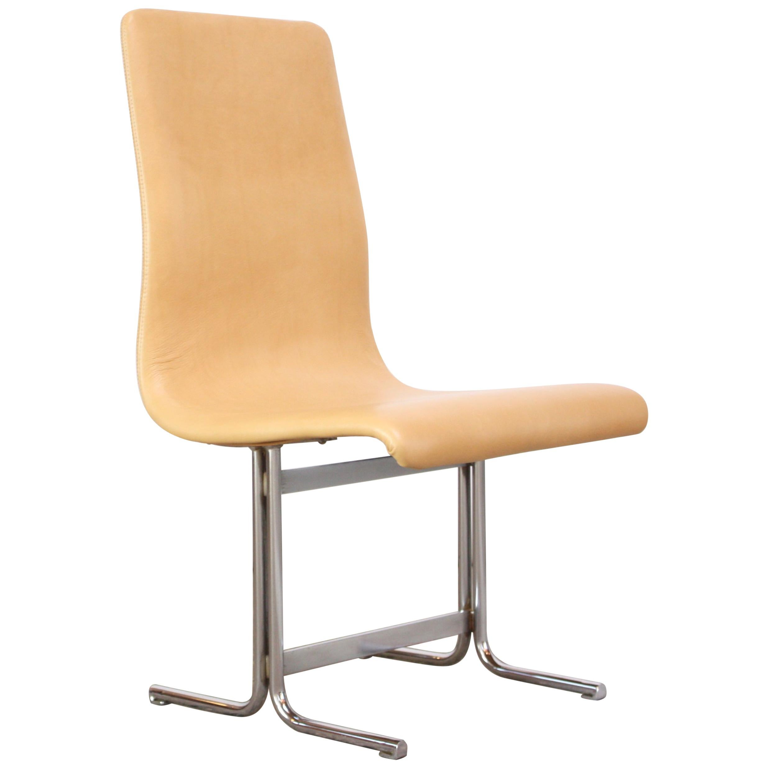 modern leather accent chairs ashley lounge chair swedish and chrome by vemo industri ab for sale