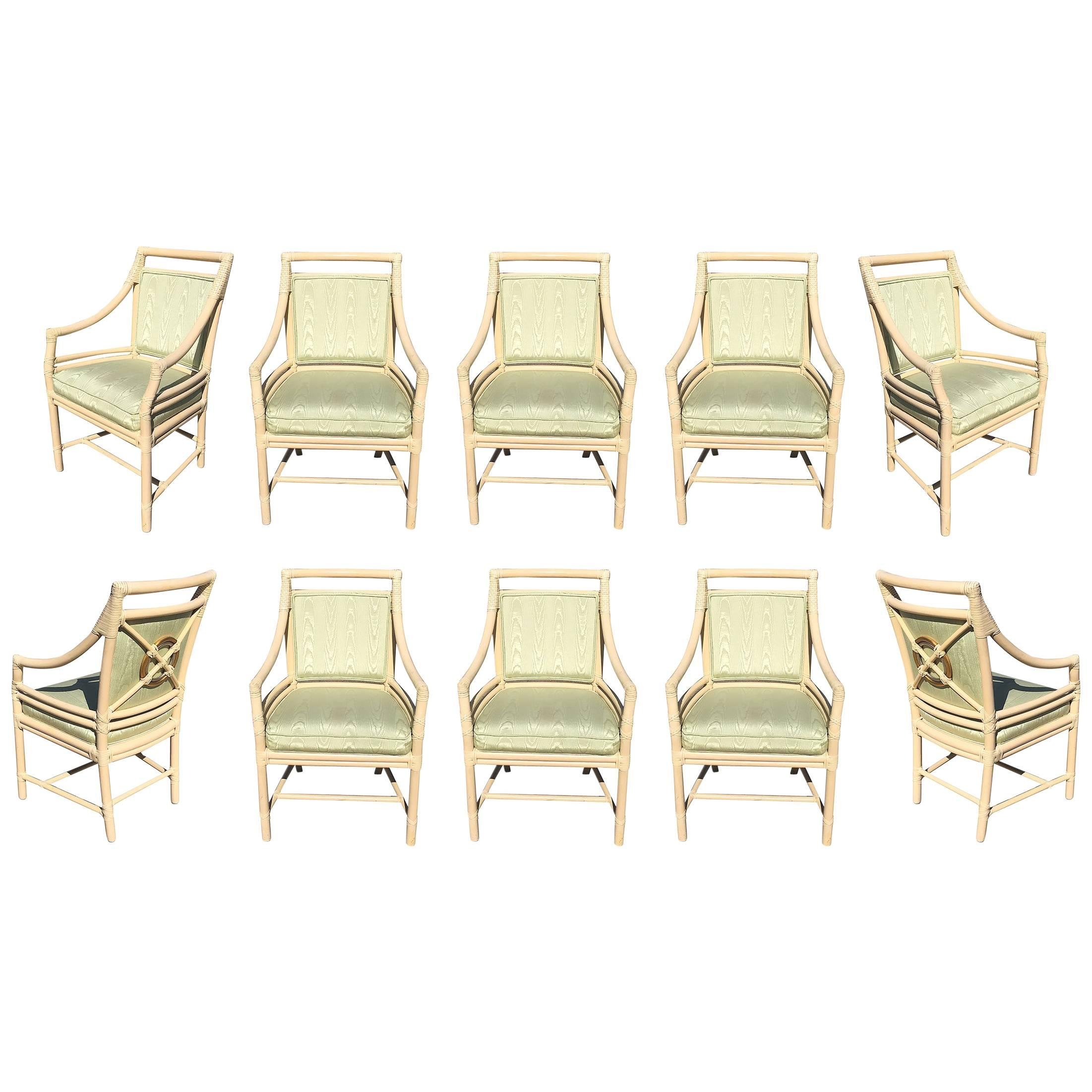 dining chairs set of 4 target ozark trail reclining chair back by mcguire ten for sale at 1stdibs