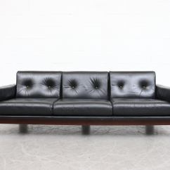3 Seater Sofa Black Leather Cheap Sofas Uk Gumtree Tobia Scarpa Style For Sale At 1stdibs