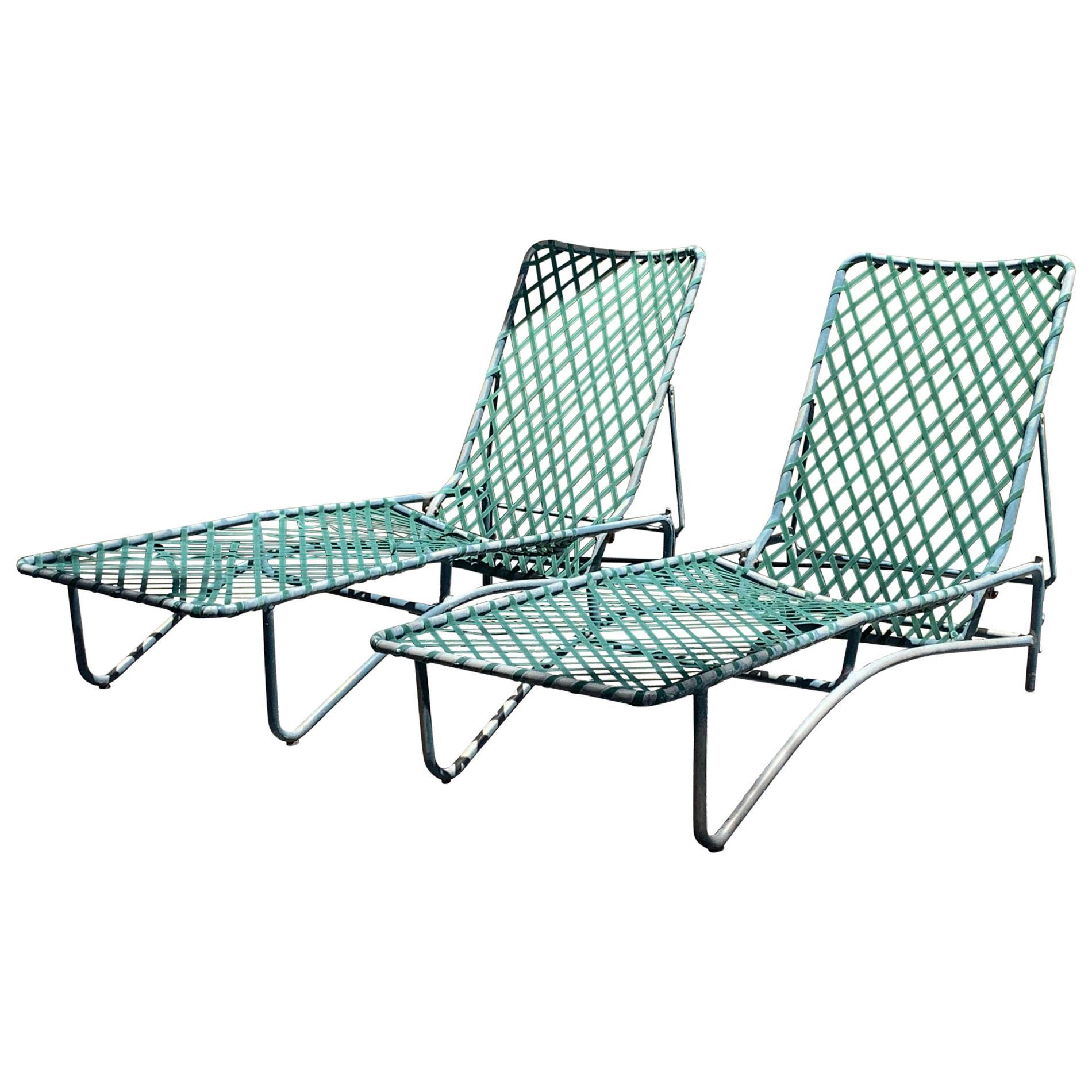 vintage brown jordan outdoor set